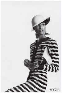 Beverly Johnson in Vogue Magazine.