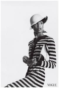 Beverly Johnson in Vogue Magazine.