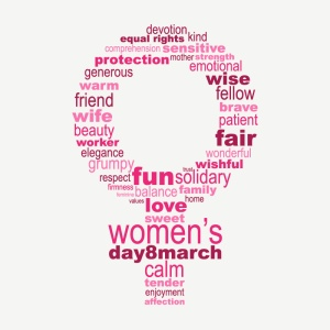 Happy-Womens-Day-Font-Pattern-Vector